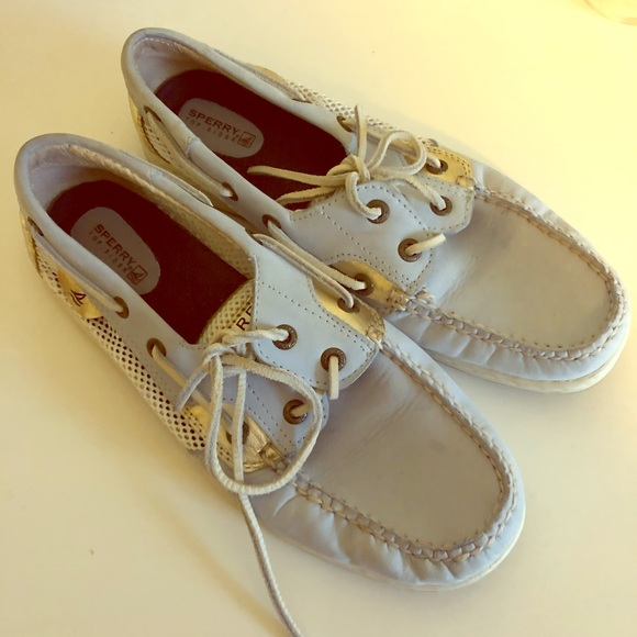 Sperry Shoes   Baby Blue Topsiders